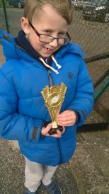 Picture 5 Reece with trophy