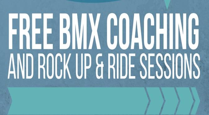 BMX Coaching !  FREE!